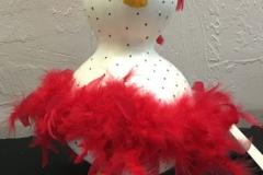 Robyn Abels, AZ. Category: Gourd Dolls/Spirit Dolls. First Place.