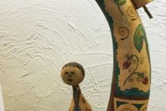 Mary Park, AZ. Category: Gourd Doll/Spirit Doll. Second Place.