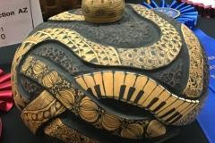 Julia Pulcifer, AZ. Category: Carving. Second Place.