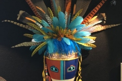Mary Brye, AZ. Category: Masks. First Place.