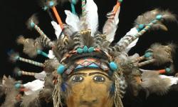 Gloria Vanroo, AZ. Category: Masks. Second Place.