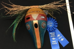 Karen Wollscheid, AZ. Category: Masks. First Place
